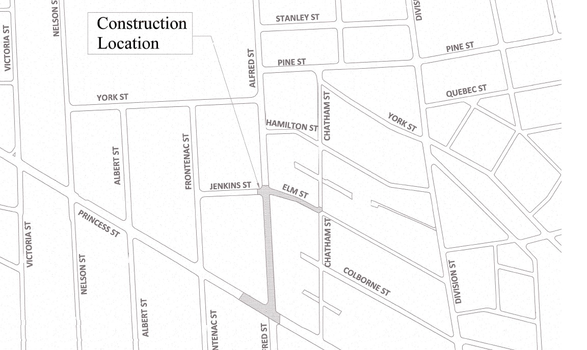 Alfred Street and Elm Street Sanitary Sewer Reconstruction