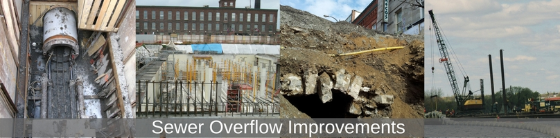 sanitary sewer constructions projects in Kingston
