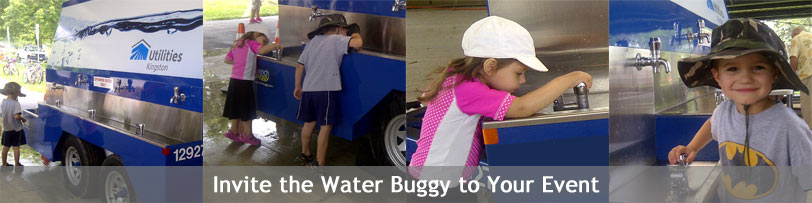 Invite the water buggy to your event