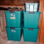 protect items stored in the basement