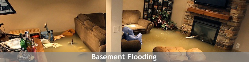 Report A Basement Flood. HeroFlooded812x203